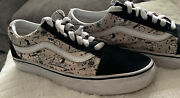 Off The Wall Peanuts Snoopy Old Skool Low Skate Shoes Women 7.5 Menandrsquos 6