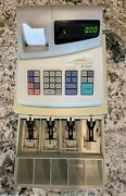 Sharp Xe-a101 Electronic Cash Register Without Key With 12 Rolls Of Paper
