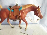 Breyer Peter Stone Dollhouse Cm Saddle And Bridle - Classic Size 112