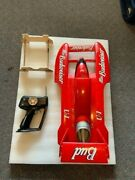 Used Pro Boat Miss Budweiser Unlimited Hydroplane Boat 1/12 Scale .18 Nitro