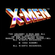 X-men 1992 Konami Arcade Game 2p Board Jamma Connection Free Shipping From Japan
