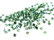 5.00 Cts Fancy Green Color Princess Cut Diamond, Natural Loose Diamonds For Ring