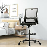 Milemont Drafting Chair Tall Office Chair For Standing Desk Drafting Mesh Table