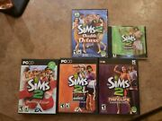 Sims 2 Pc Lot University, Double Deluxe, Holiday, Open For Business, Nightlife