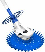 Automatic Suction Climbing Wall Pool Vacuum Sweeper For In-ground Pool