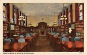 Il Postcard Chicago Theological Seminary Henry M. Hooker Hall Hammond Library
