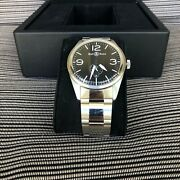 Bell And Ross Stainless Steel Br123-95-ss Automatic Menand039s Wrist Watch 41mm