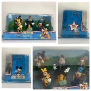Disney Store Mickey Mouse Clubhouse Figurine Playset Cake Toppers 6pcs New