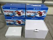 Lot Of 4 Empty Box Only Sony Playstation Vr Psvr Iron Man Ps4 Replacement Box