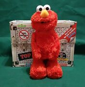 Fisher-price Tmx Tickle Me Elmo Toy In Box 10th Anniversary