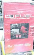 Milwaukee 2772a-21 M18 Fuel Drain Snake With Cable Drive Locking Feed System New