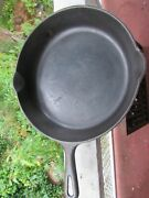 Vintage Griswold Cast Iron 9 11 1/4 Inch Skillet Small Block Logo 1950-1959