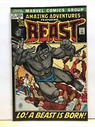 Amazing Adventures 11 1972 Fn+ The Beast 1st Appearance Beast With Fur Marvel