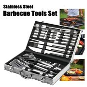 Bbq Grill Tool Set - 26 Piece Stainless Steel Barbecue Grilling Accessories
