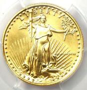 1988 American Gold Eagle 10 Age Coin - Certified Pcgs Ms70 - 4750 Value