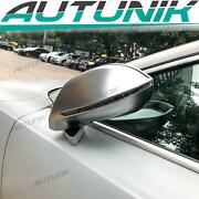 Replacement For Audi A7 S7 2012-17 Chrome Side Mirror Caps W/o Lane Assist