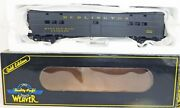 Weaver U21056sd 2-rail Cbandq O Scale Wwii Troop Kitchen Car Lighted/detailed