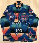 Polo Authentic Native Fleece Jacket Multicolor Xxl Used From Japan