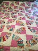 Vintage Handmade Quilt. Would Make A Super Awesome Christmas Gift