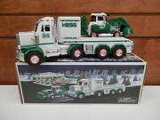 2013 Hess Gas Toy Truck And Tractor In The Box