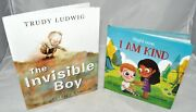 Lot New The Invisible Boy Friendship Kindness Kids Right Now I Am Kind