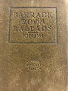 Barrack Room Ballards By Kipling Little Leather Library Suede Soft Leather Book