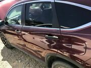 Driver Rear Door 15 Cr-v Power Privacy Glass Maroon 4207157