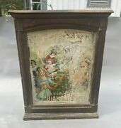 Antique Victorian Diamond Dye Country Store Advertising Cabinet