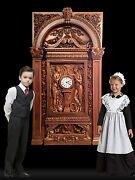 Rms Titanic 12 Scale Grand Staircase Clock With Architectural Surround