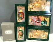 Hallmark Christmas Power Supply Electrical Illuminations And 5 Five Ornaments