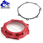 Aluminum Billet Red Clutch Cover Gasket For Yamaha Yfz450 Yfz450r 2006-2020 Cnc