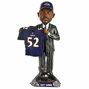 Ray Lewis Baltimore Ravens 1996 Draft Day Bobblehead Home Jersey Only 100 Made