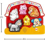 Fisher-price Laugh And Learn Farm Animal Puzzle Baby Toy, New