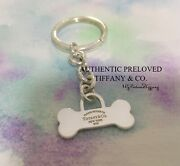 Excellent Authentic And Co. Return To Bone Charm Keyring Key Ring Keychain