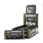 24x Greenbacks 100 Bill King Size Paper Full Box Of Rolling Papers With Tips