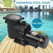 2hp Swimming Pool Pump Motor 115-230v For Hayward W/strainer In/above Ground