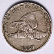1857 Flying Eagle Cent Penny Choice Xf+ Free Shipping E502 Wee