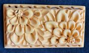 Deeply And Nicely Carved 30and039s Butterscotch Cream Corn Bakelite Pin Brooch