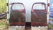 1938-1939 Ford Truck Doors And Handles - Matched Pair