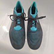 Men's Nike Solarsoft Moccasin Sz 18 Gray /teal Blue 555301-040 Athletic Shoes