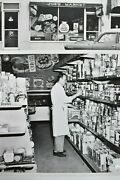 2 Vtg. 1960and039s 8x10 Photos Joeand039s Market General Store Drakes Cakes Corn Flakes