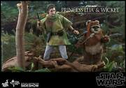 Princess Leia And Wicket The Ewok Return Of The Jedi Double Pack 16 Figures