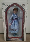 Disney Store Limited Edition 17 Anna Olaf's Frozen Adventure 3765/7000 Doll