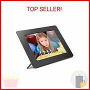 Aluratek 8 Lcd Digital Photo Frame W/4gb Built-in Mem And Usb Sd/sdhc Support …