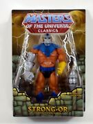 Damaged Package Masters Of The Universe Classics Strong-or Evil Warrior Motu