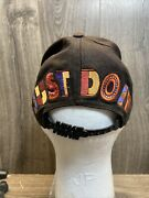 Vtg Rare Nike Just Do It Urban Jungle Snapback Hat Cap Spike Lee Youth 80s 90s