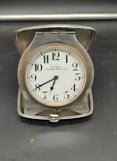 8 Days Quarter Repeater Sterling Silver Travel Clock From Robert Peary