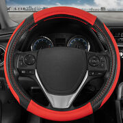 Griptech Sport Red Suv Steering Wheel Cover 14.5 15 15.5 Inch Accessories