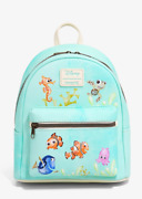 Loungefly Disney Nemo Finding Dory Teal Mini Backpack