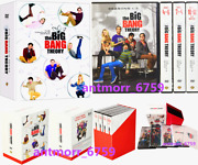 The Big Bang Theory The Complete Series Seasons 1-12 Dvd 37-disc Us Seller New